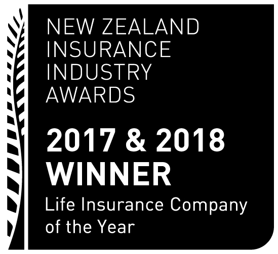 NEW ZEALAND INSURANCE INDUSTRY AWARDS 2017 & 2018 Life Insurance Company of the Year