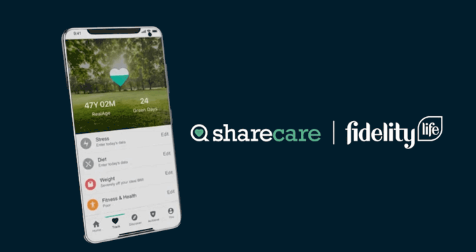 sharecare fidelity life app real age